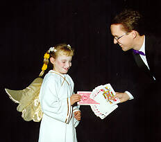 A Halloween school show by Richard Young the Magician in Calgary, Alberta, Canada